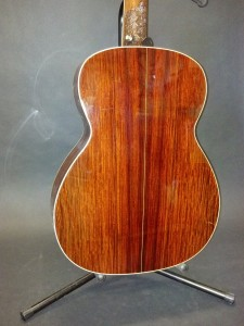 Back of the cocobolo OM