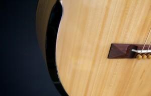 UU guitar forearm comfort cut detail